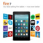 Amazon Fire 7: An Affordable Tablet That's Built To Last now With Alexa