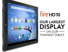 Amazon Kindle Fire HD 10: Everything You Like But Less Expensive