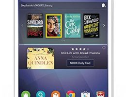 The Samsung Galaxy Tab 4 NOOK Edition is really cool!