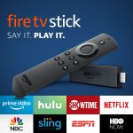 Fire TV Stick (Second Generation) with Alexa Voice Remote
