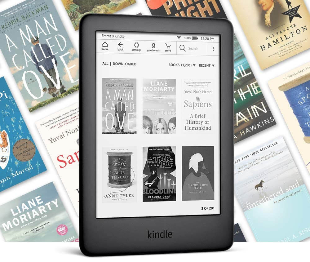 Kindle: Disappearing Book Covers